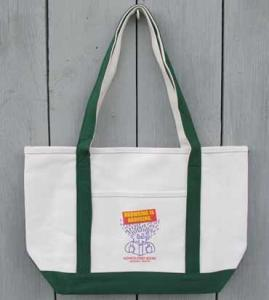 Monroe Street Books Tote Bag For Sale