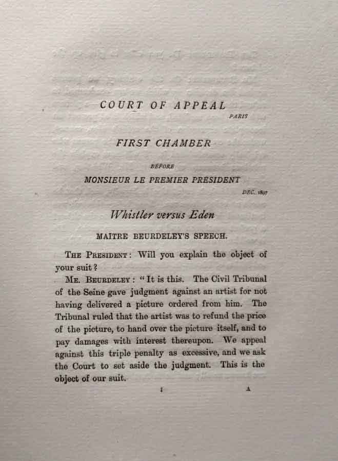 Baronet and the Butterfly Court of Appeal chapter title page.