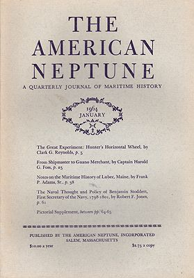 American Neptune: A Quarterly Journal of Maritime History Volume 24 No. 1-4 1964 (4 Issues)by: Dodge(Ed.), Ernest S. - Product Image