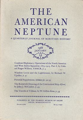 American Neptune: A Quarterly Journal of Maritime History Volume 28 No. 1-4 1968 (4 Issues)by: Dodge (Ed.), Ernest S. - Product Image
